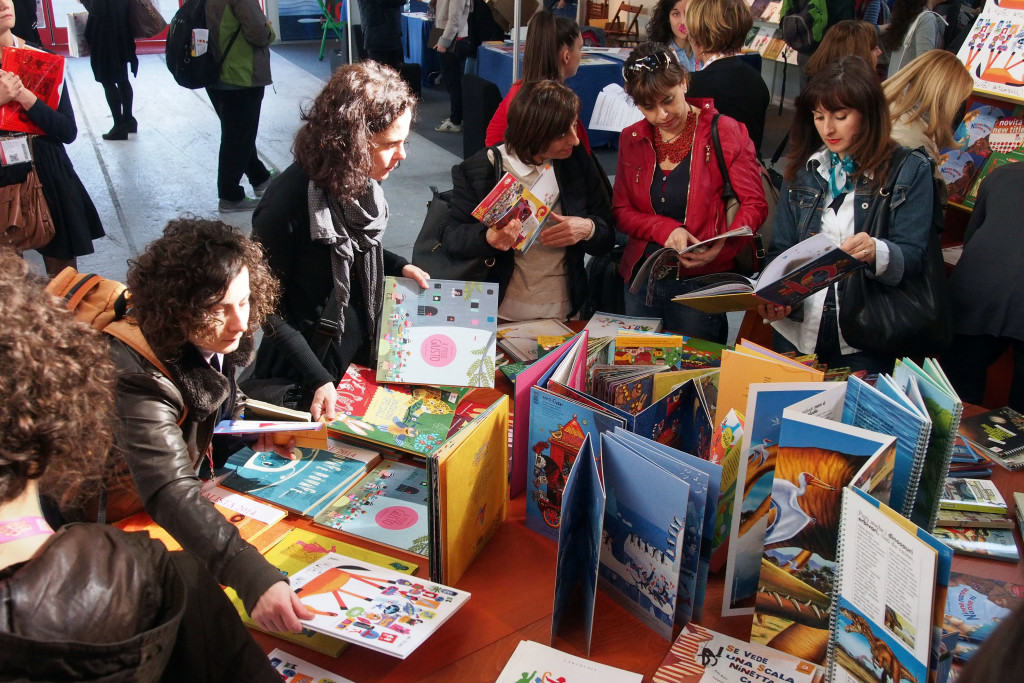 La Bologna Children's Book Fair è una grande occasione di incontro e visibilità