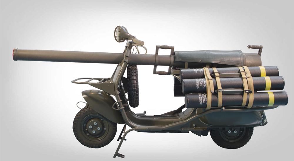 VESPA 150 T.A.P. (Truppe Aeree Paracadutate), 1956