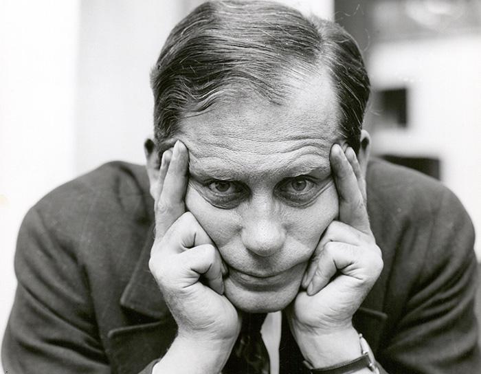 Walter Gropius, 1926 - credit The Bauhaus-Archive. Courtesy Fotostiftung Schweiz