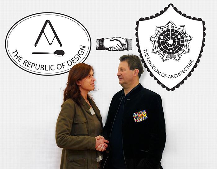 Luisa Collina e Cino Zucchi, i curatori della mostra