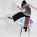 Prismania chair di EliseLuttik, proprio come le bolle qualche volta la vedi qualche volta no. (Photography by Lisa Klappe).