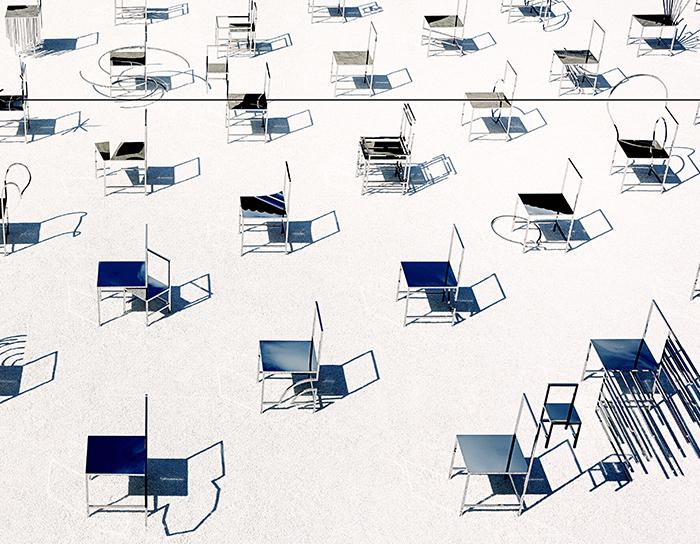 50 Manga Chairs di Nendo, Facoltà Teologica dell'Italia Settentrionale
