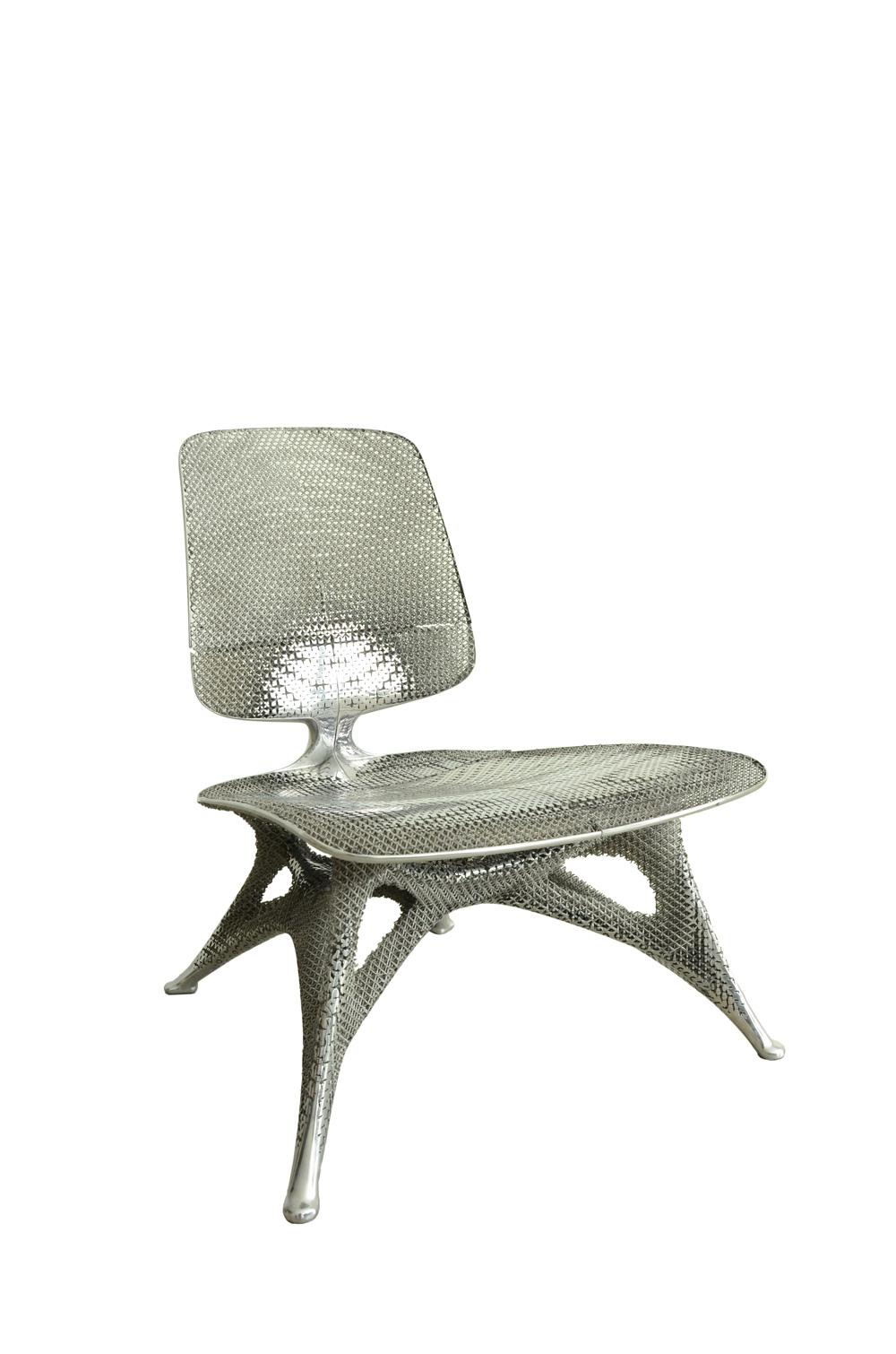 Aluminium Gradient Chair, Joris Laarman, 2014