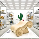 Installation view »Radical Design« at the Vitra Schaudepot photo © Mark Niedermann