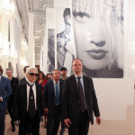 Eike Schimdt Karl Lagerfeld Gaetano Marzotto Andrea Cavicchi