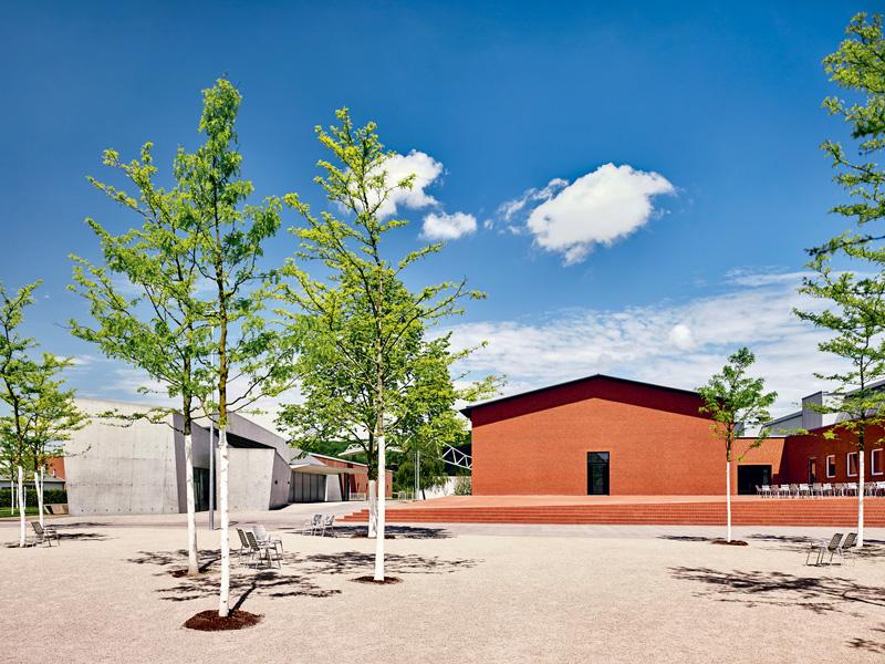 Exterior view Schaudepot, designed by the architects Herzog & de Meuron, photo © Vitra Design Museum, Mark Niedermann