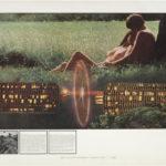 Superstudio, Atti Fondamentali. Amore. La macchina innamoratrice, 1972, litografia, courtesy Fondazione MAXXI