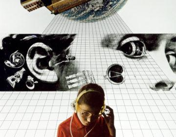 Gli Atti Fondamentali, Educazione, 1971-1972, collage (foto C. Toraldo di Francia)