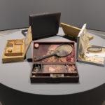 Immagine della mostra. Da sinistra a destra: Calling Card, 1976, Record for Hattie, 1975, Veil of Tears, 1975. Photo Roberto Marossi. Courtesy Fondazione Prada