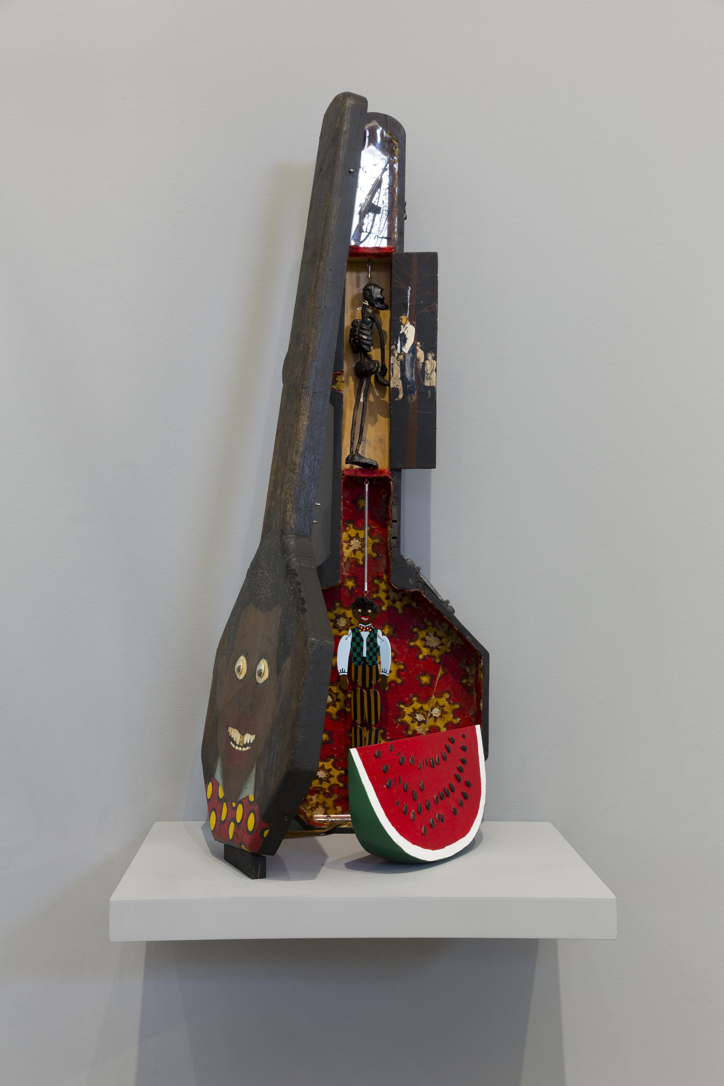 Uneasy Dancer. Immagine della mostra. Sambo's Banjo, 1971–72. Photo Roberto Marossi. Courtesy Fondazione Prada