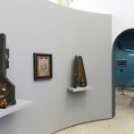 Immagine della mostra. Da sinistra a destra: Sambo's Banjo, 1971–72, Blues Men, 2006, History (his/story), 2005. Photo Roberto Marossi. Courtesy Fondazione Prada